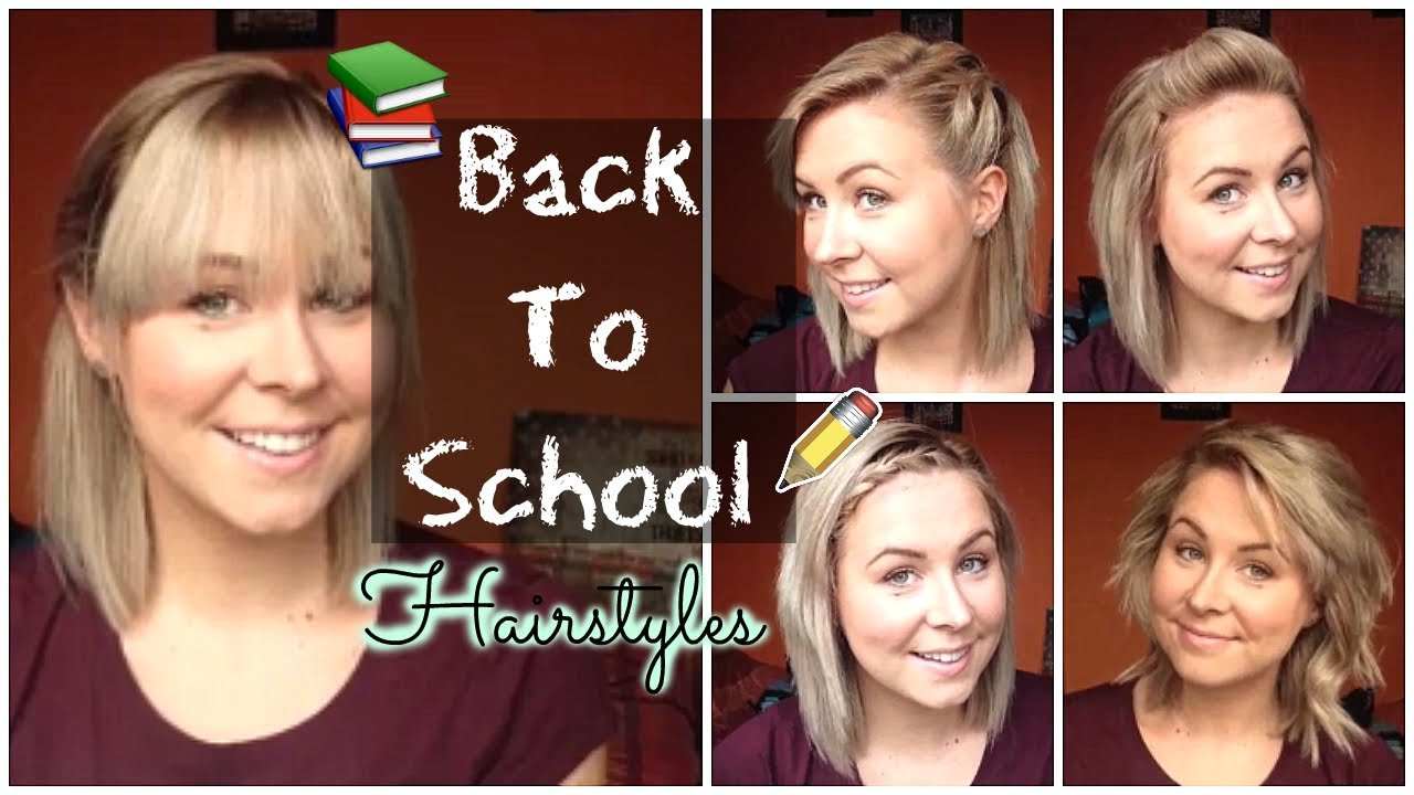 The Best Back To School Quick Easy Hairstyles Shoulder Length Pictures