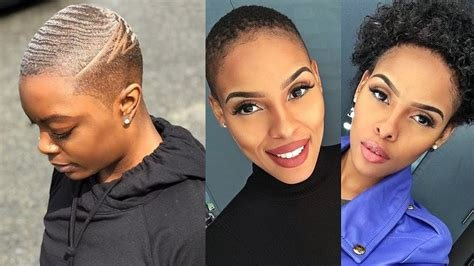 The Best Ultra Short Haircuts For Black Women 2019 Short Hair 2019 For Black Women So Far Youtube Pictures