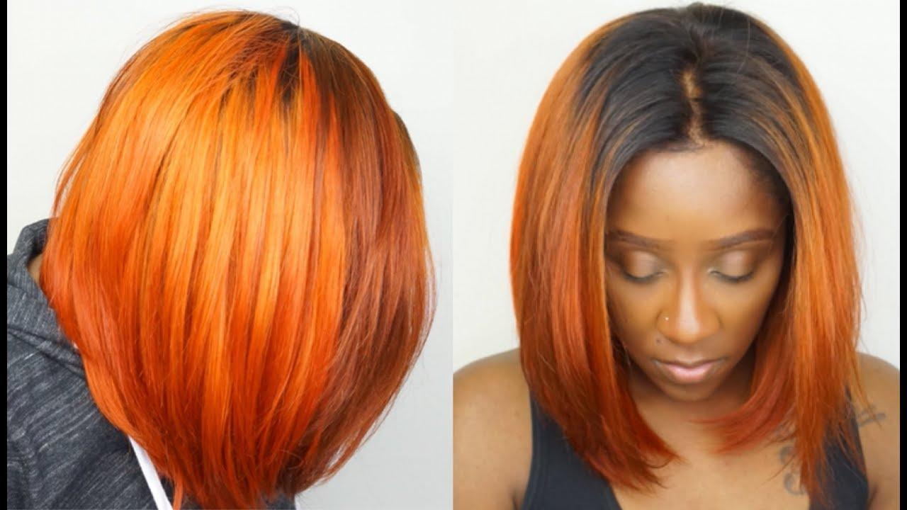 The Best How To Get Orange Hair Easily Dye Black Hair To Orange Pictures
