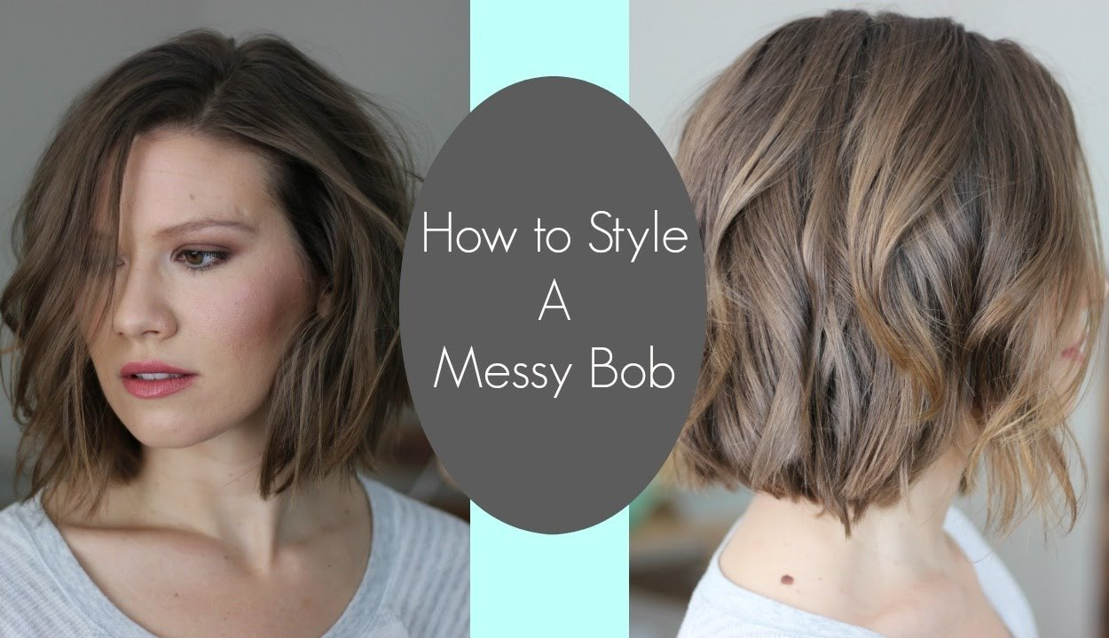 The Best How I Style My Messy Bob Laura S Natural Life Youtube Pictures