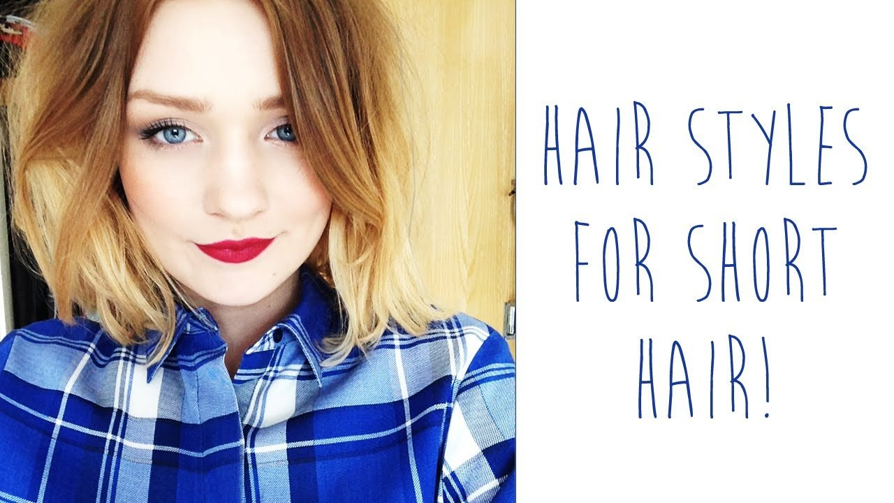 The Best Hair Styles For Short Hair Tinytwisst Youtube Pictures