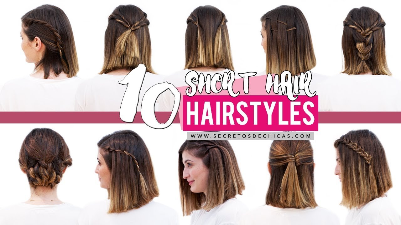 The Best 10 Quick And Easy Hairstyles For Short Hair Patry Jordan Pictures