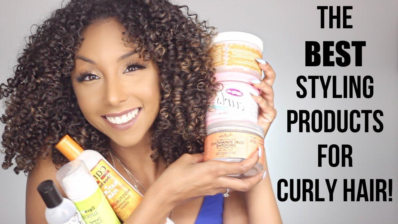The Best Styling Products For Curly Hair Pictures