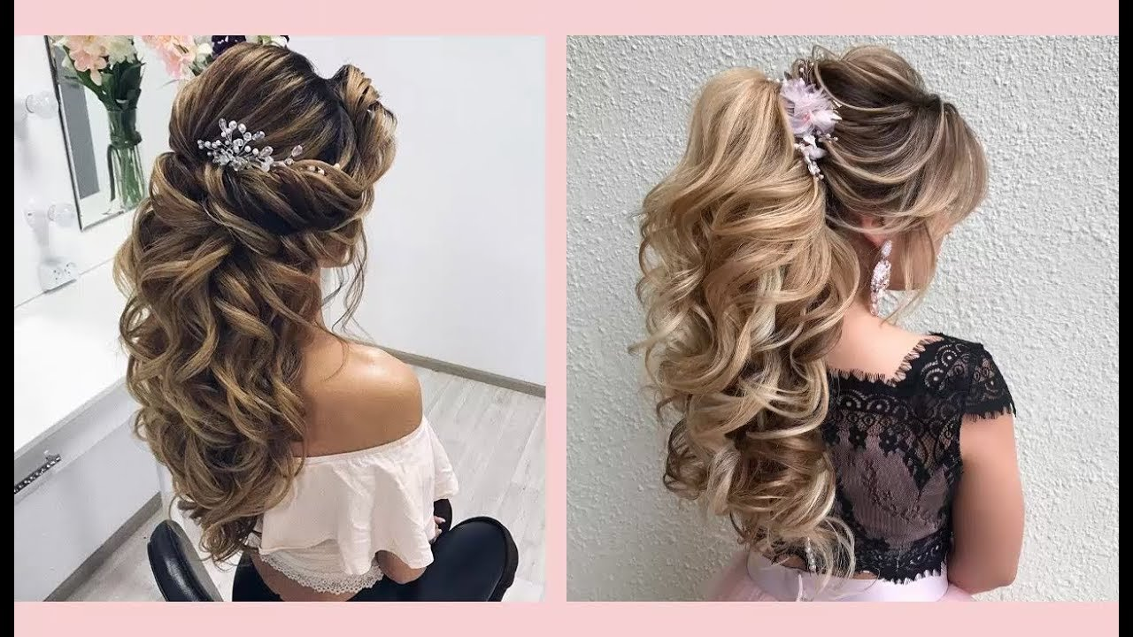 The Best Curly Prom Hairstyles For Medium Long Hair Curly Or Pictures