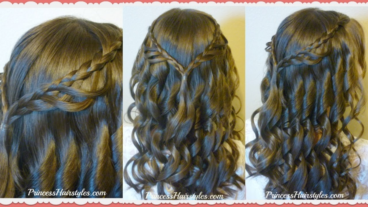 The Best 8Th Grade Dance Hairstyle Tutorial And Dress Princess Pictures