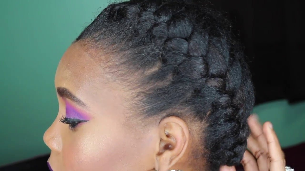 The Best How To French Braid Tutorial On Natural Hair Youtube Pictures