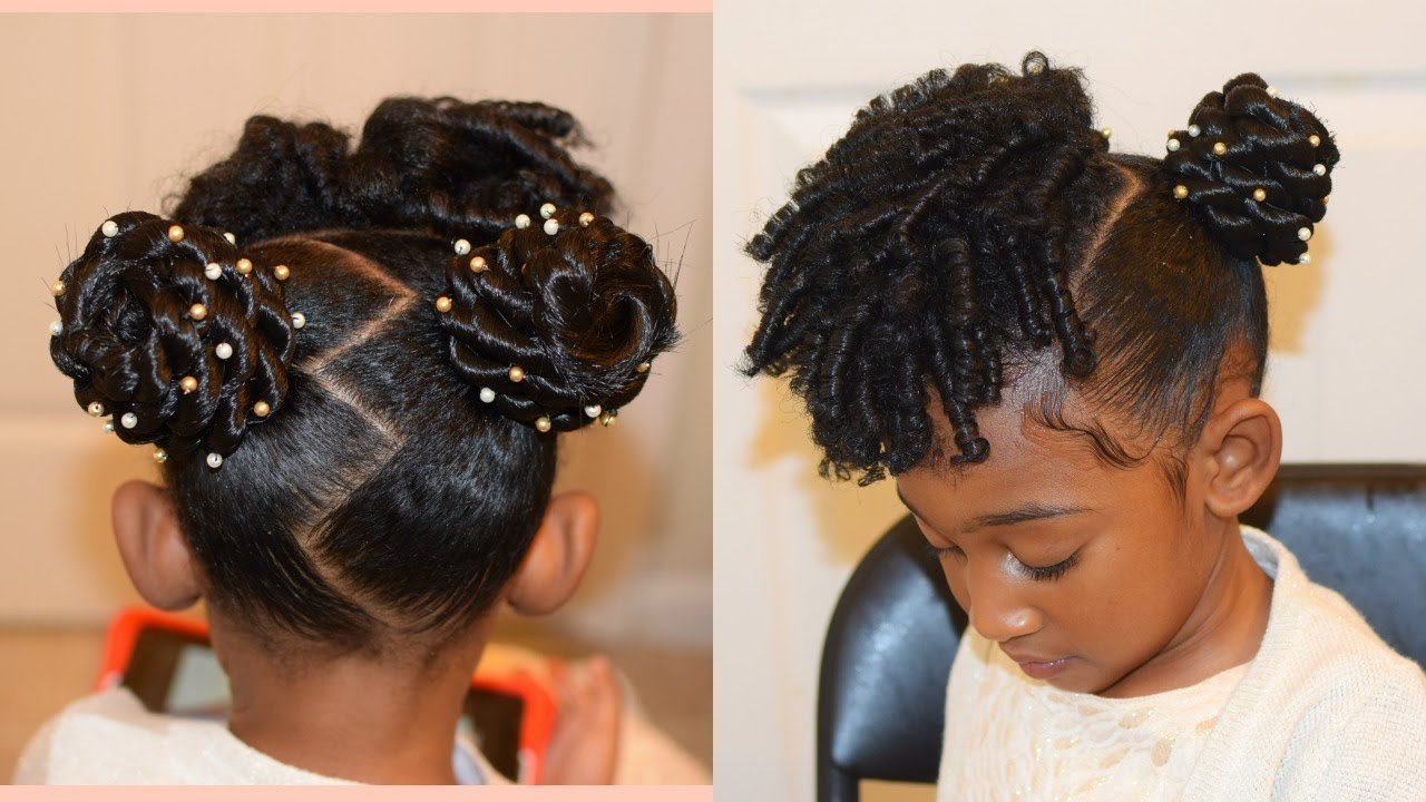The Best Kids Natural Hairstyles The Buns And Curls Easter Pictures