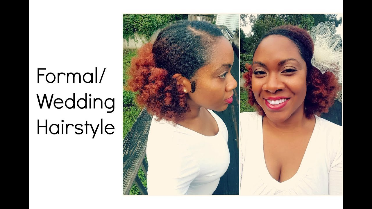The Best Wedding And Formal Hairstyle On Natural Hair Naturally Pictures
