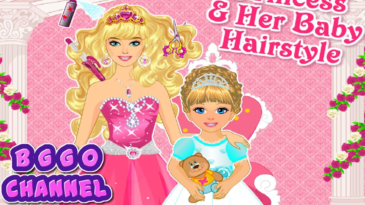 The Best Princess And Baby Hairstyle Barbie Haircut Games For Pictures