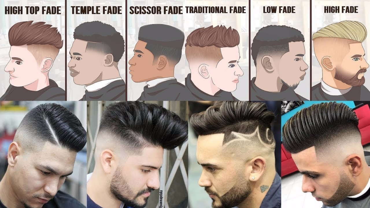 The Best Top 20 Popular Haircuts For Men 2018 Fade Hairstyles For Pictures