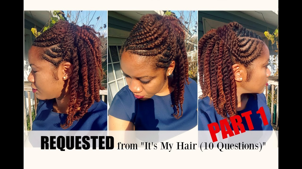 The Best Flat Twist Hairstyles On Natural Hair Part 1 Naturally Michy Youtube Pictures