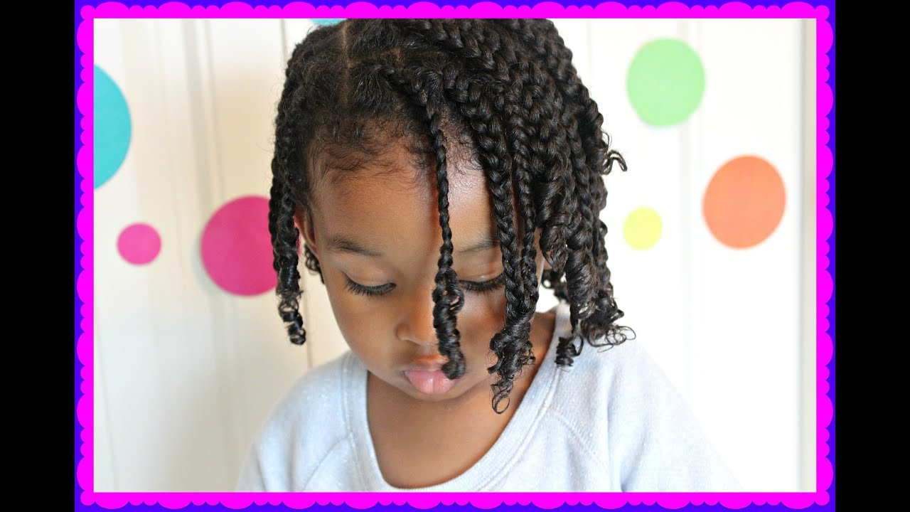 The Best Small Braids All Over Head Cute Hairstyles For Kids Pictures