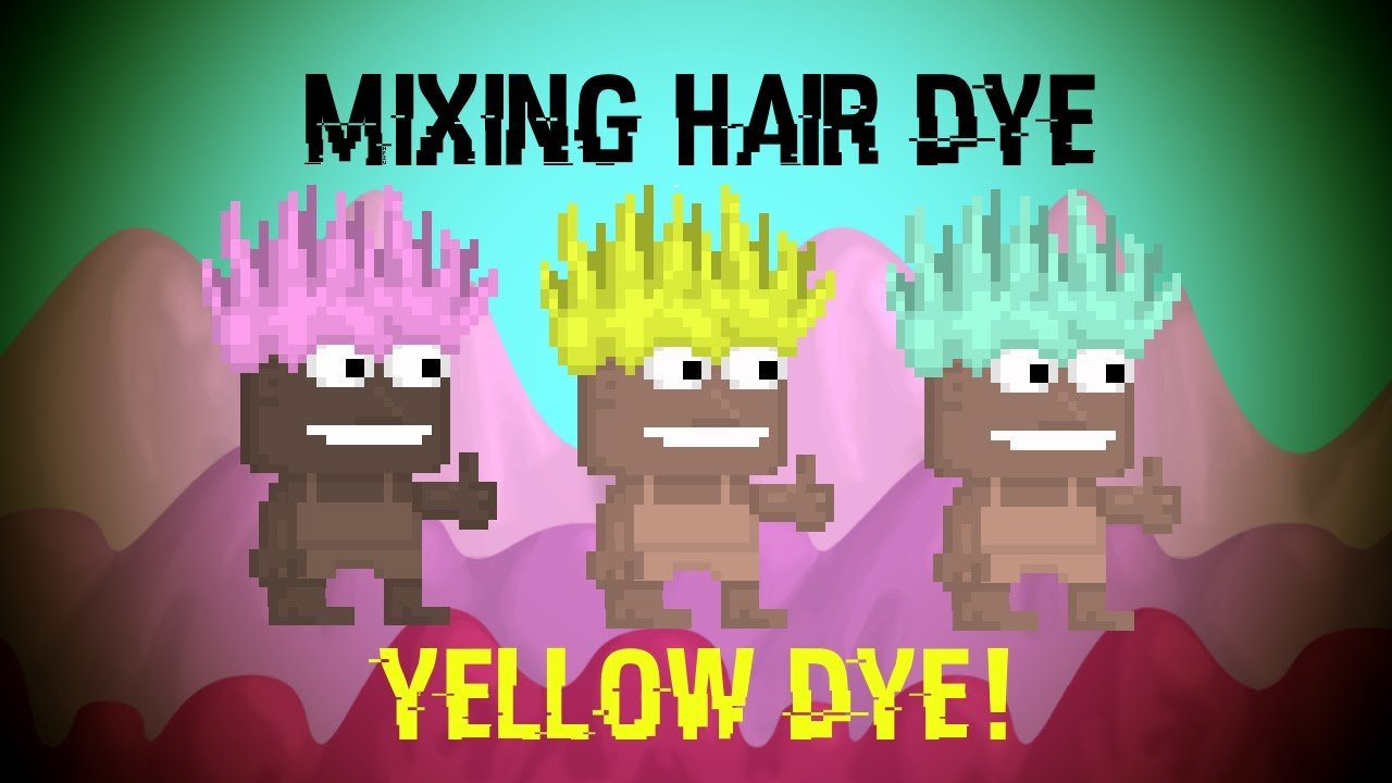 The Best Growtopia How To Mix Hair Dye To Get Different Colors Youtube Pictures