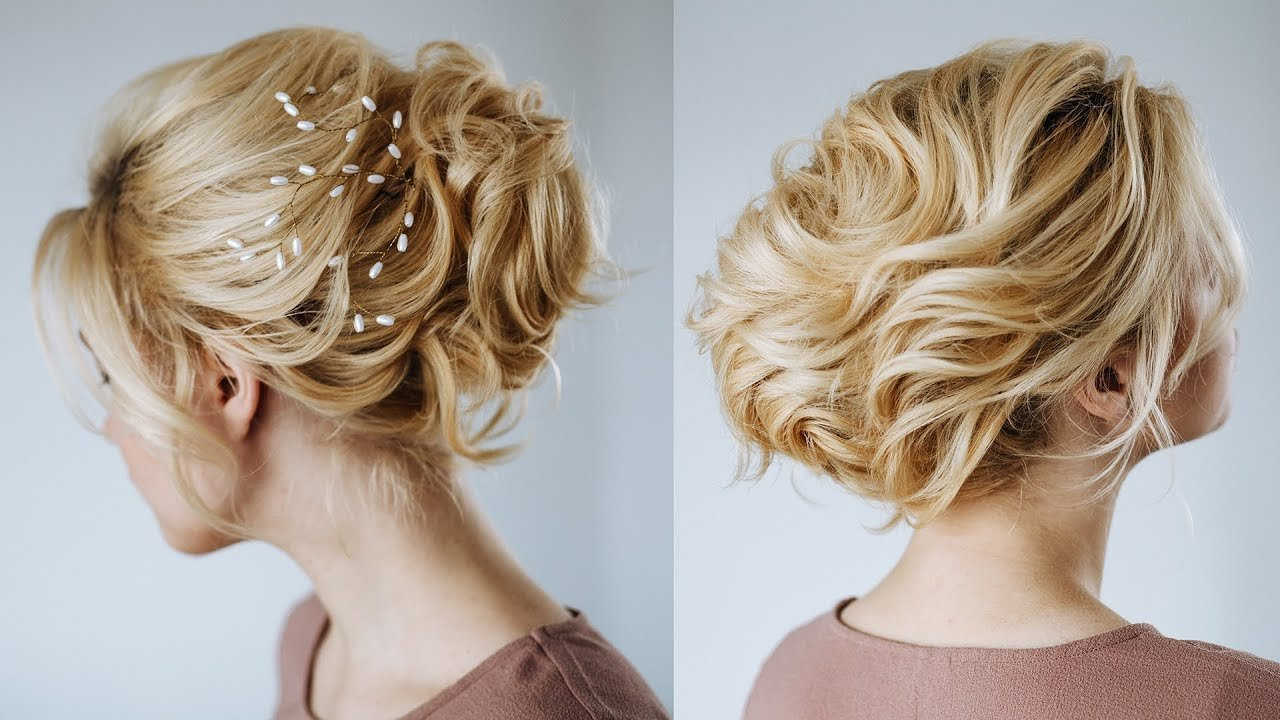 The Best Short Hair Wedding Updo Hairstyles For Short Hair From Pictures
