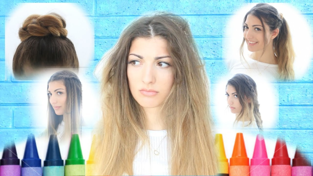 The Best My Back To School Hairstyles Youtube Pictures