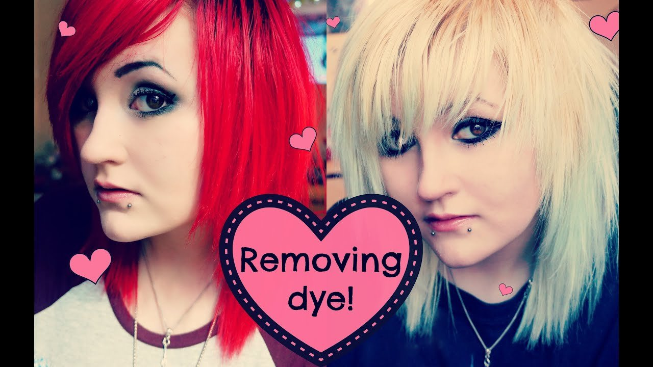 The Best How I Fade Remove My Hair Dye ♥ Youtube Pictures