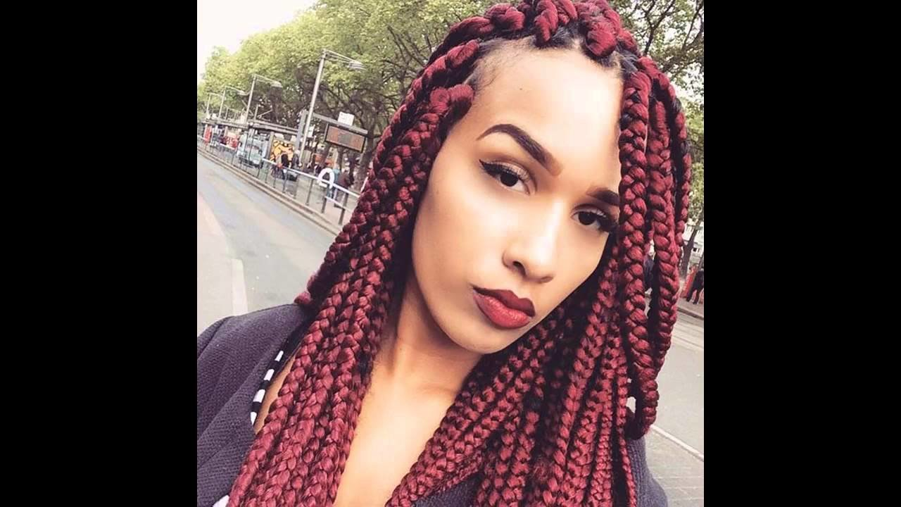 The Best Big Box Braids Hairstyles Youtube Pictures