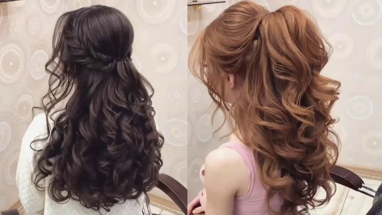 The Best Elegant Prom Hairstyles For Long Hair Youtube Pictures