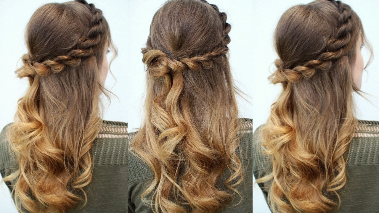 The Best Easy Half Up Half Down Hair Idea Easy Hairstyles Pictures