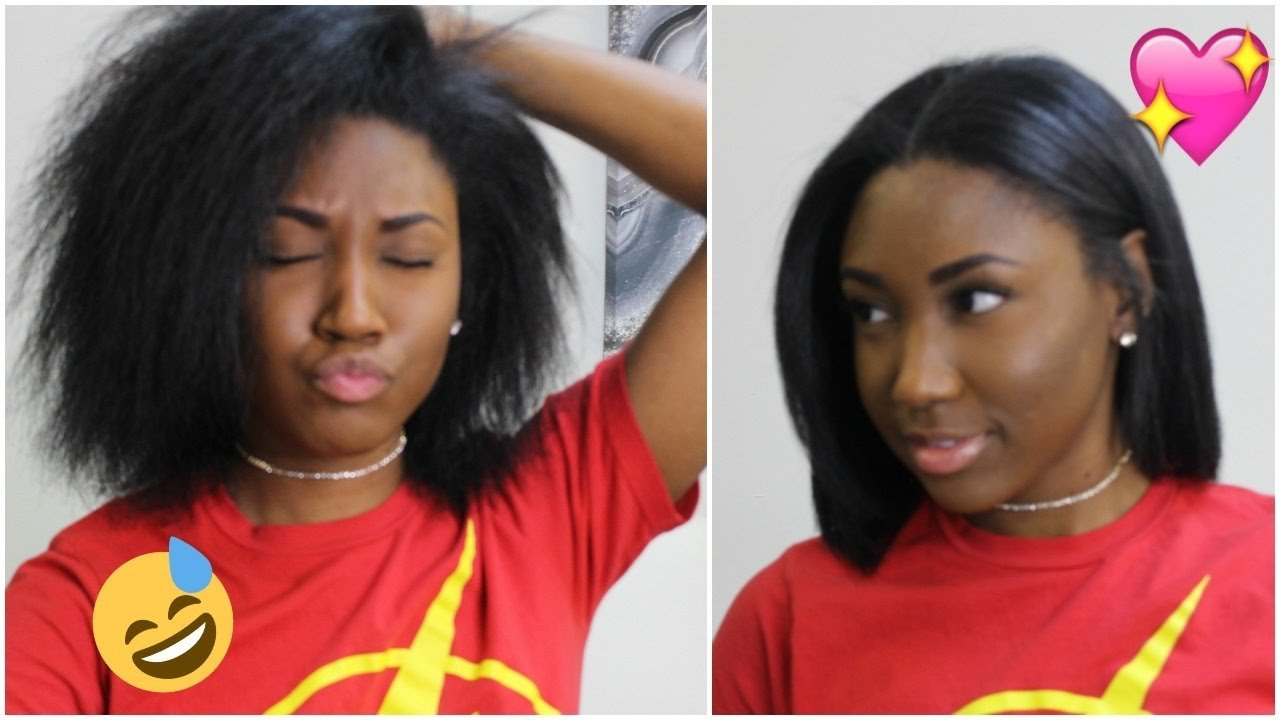The Best Flat Ironing My Natural Hair Styling Short Hair Pictures