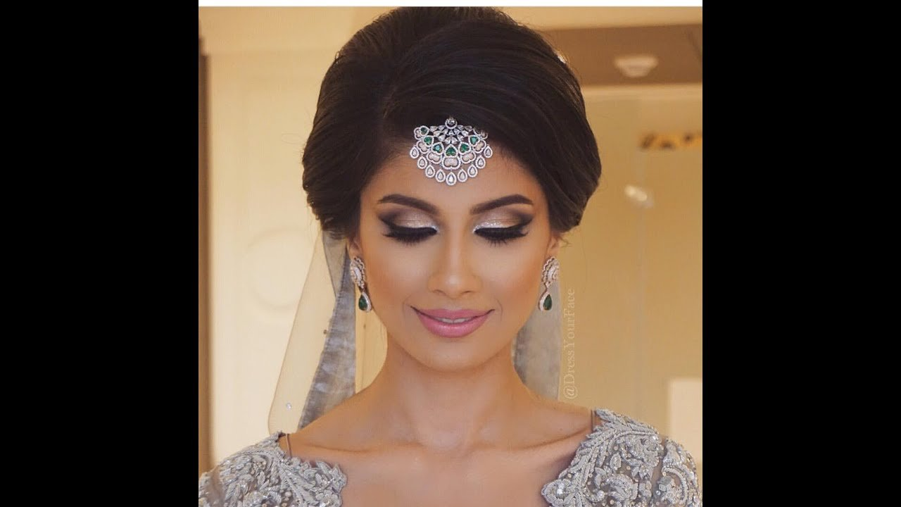 The Best Classic Indian Bridal Updo Youtube Pictures