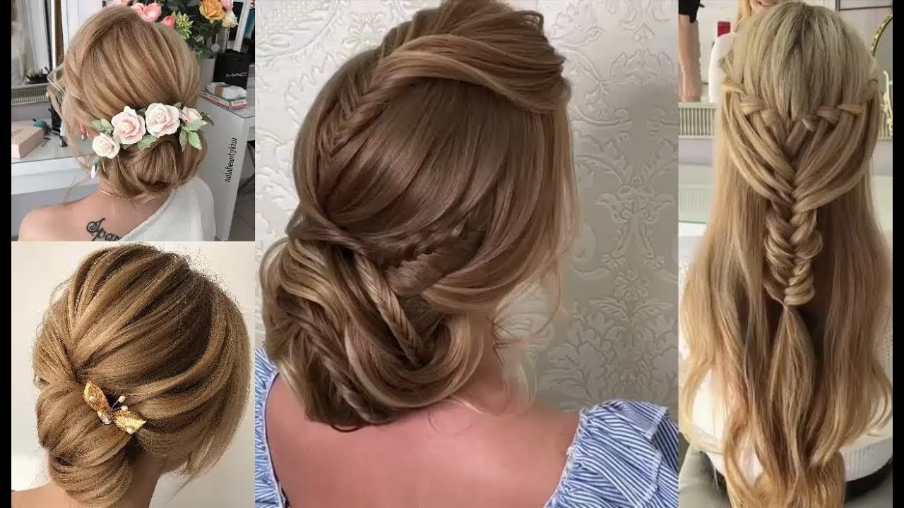 The Best Party Hairstyles Tutorial Compilations Romantic Pictures