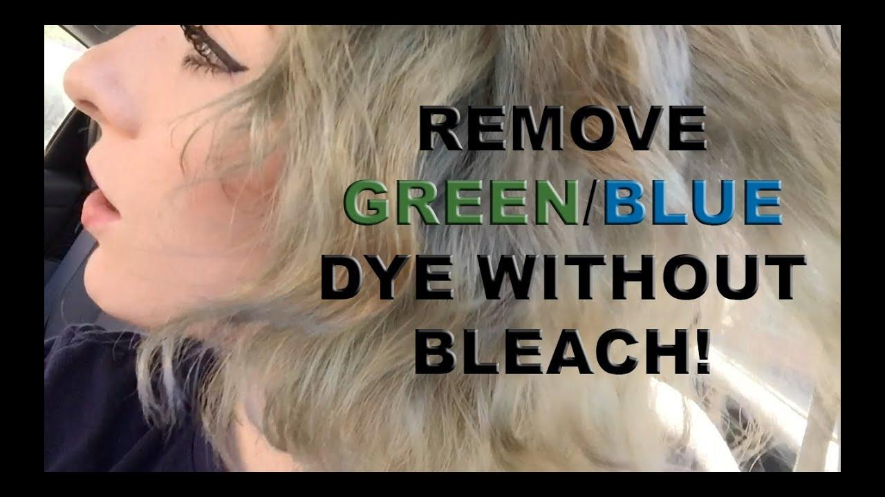 The Best Remove Faded Green Blue Dye From Hair Without Bleach Pictures