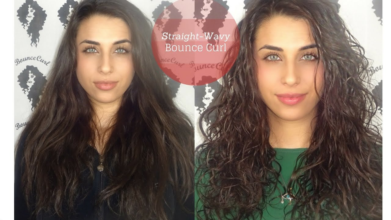 The Best Semi Straight To Wavy Hair Youtube Pictures
