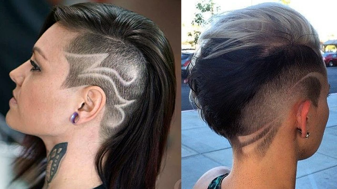 The Best Extreme Side Cut Haircut Women Side Shave Haircut For Pictures