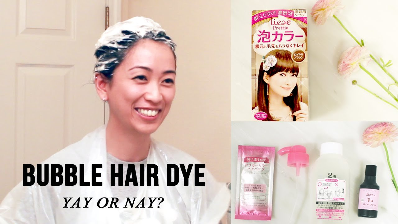 The Best Hair Dye Tutorial Review Of Liese Bubble Hair Color Youtube Pictures
