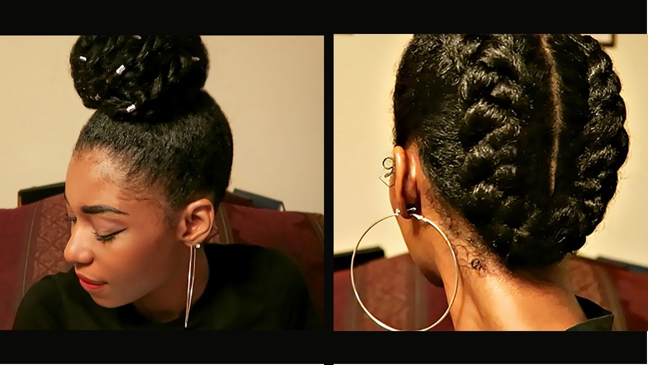 The Best 4 Protective Natural Hairstyles To Retain Length Youtube Pictures