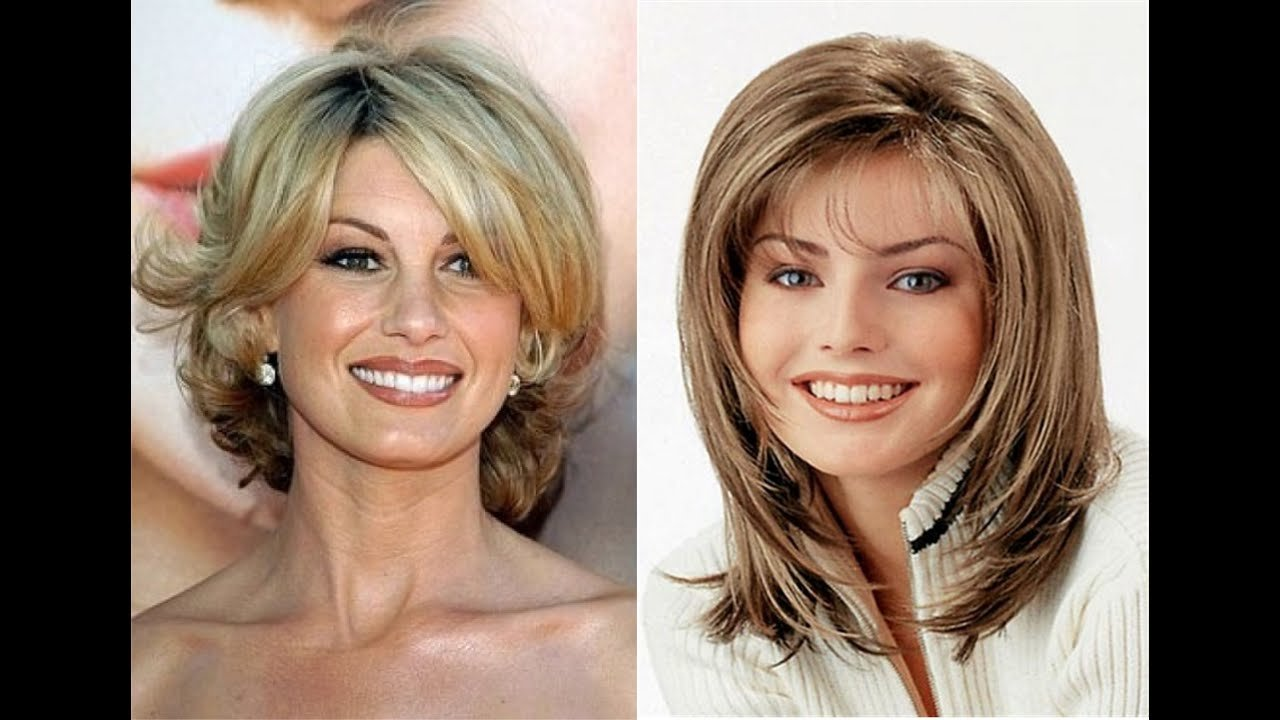 The Best Medium Length Hairstyles For Women Over 40 Youtube Pictures
