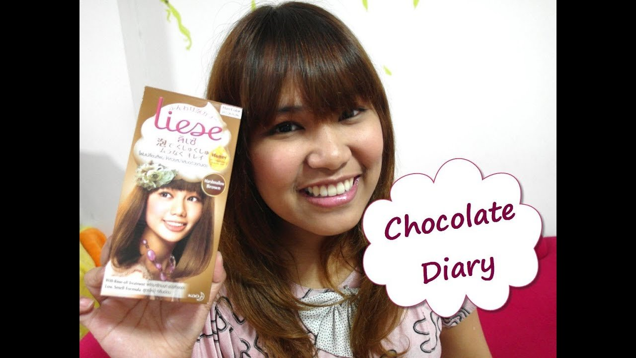 The Best Diy Review Liese Bubble Hair Color Marshmallow Brown Pictures