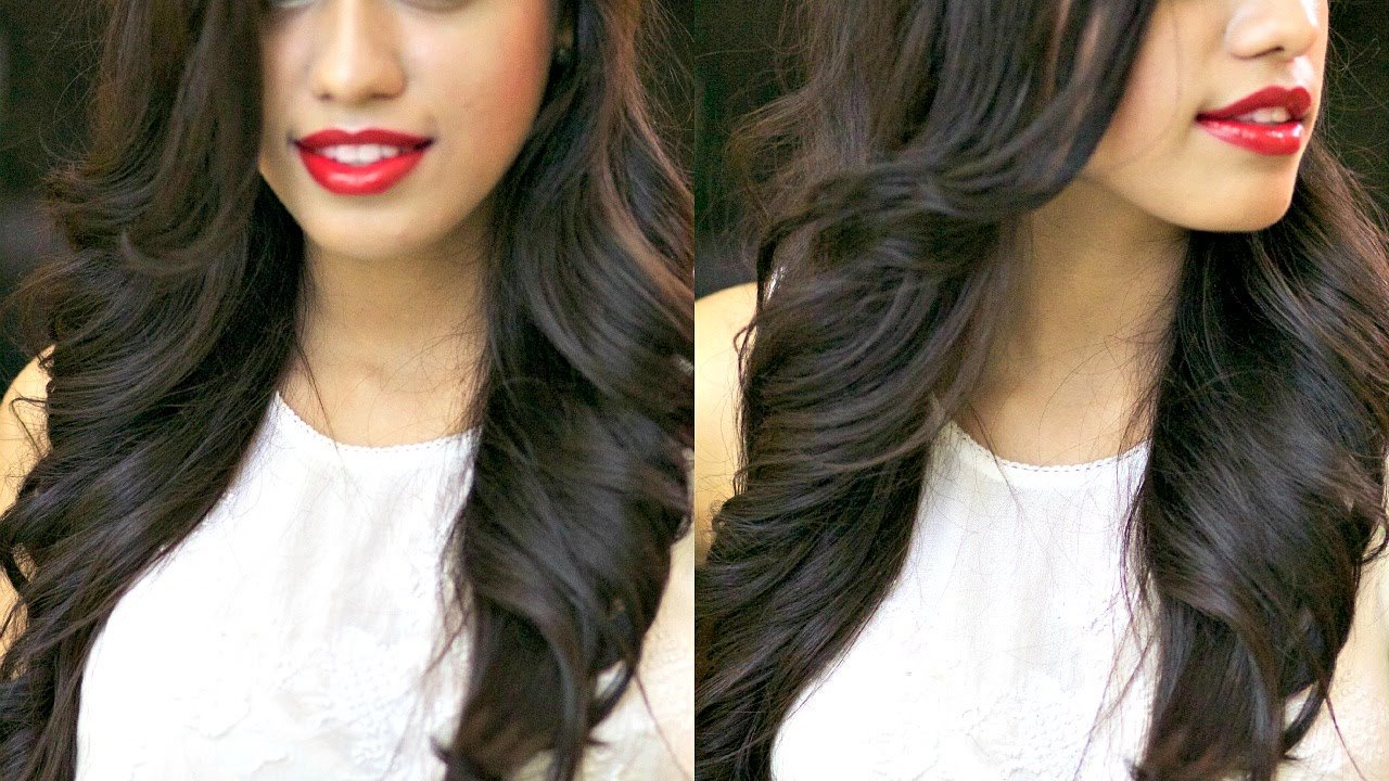 The Best Loose Outwards Waves With Straightener And Curling Iron Pictures