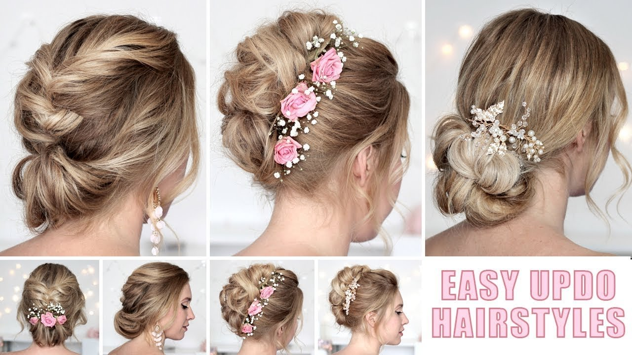 The Best Wedding Hairstyles For Medium Long Hair Tutorial Quick And Pictures