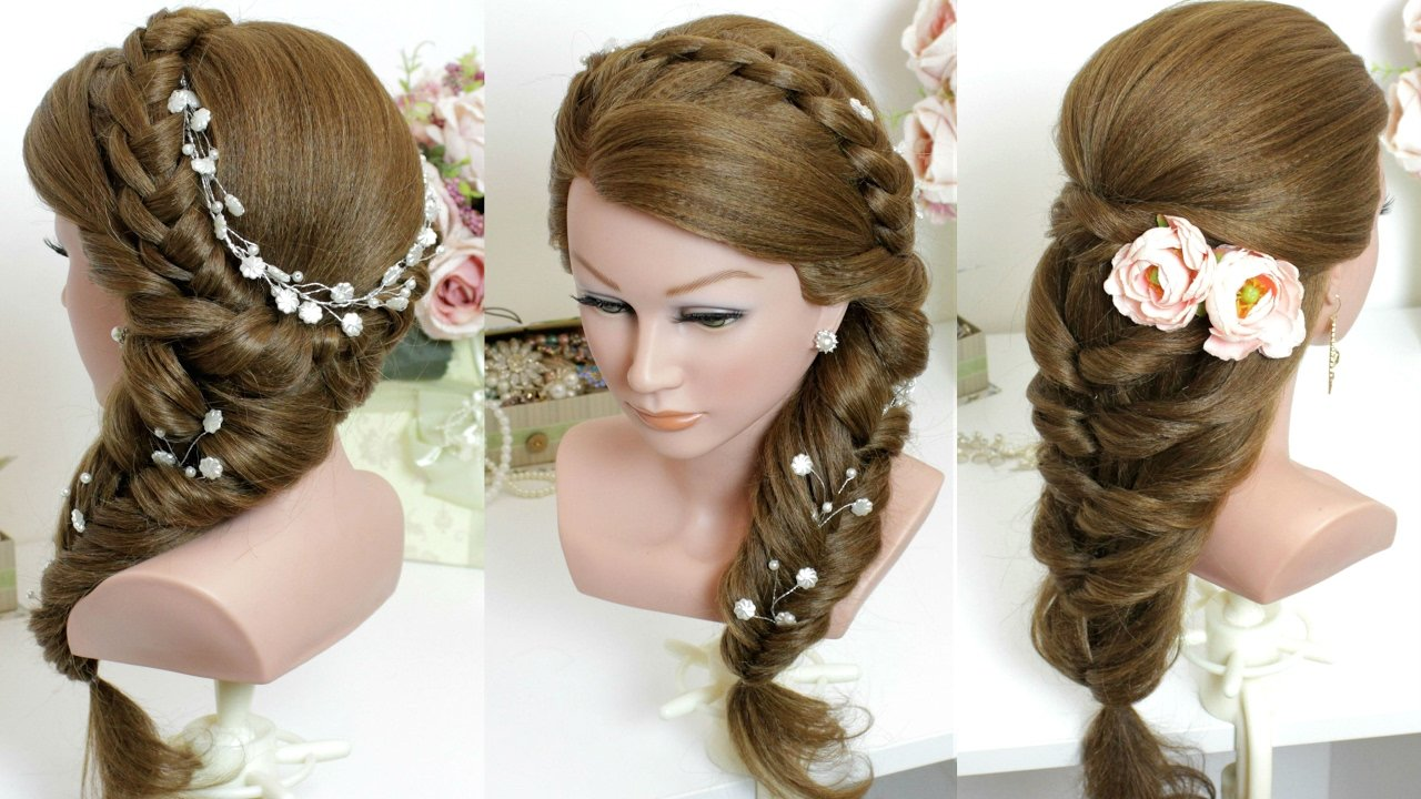 The Best 2 Cute And Easy Hairstyles For Long Hair Tutorial Youtube Pictures