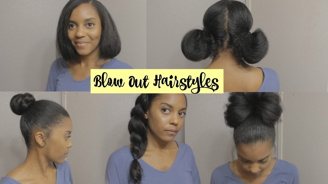 The Best Bl*W Out Hairstyles On Natural Hair Youtube Pictures