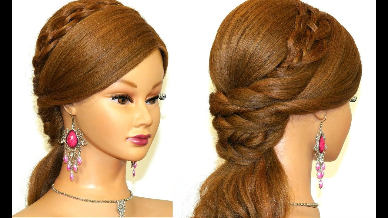 The Best Easy Prom Hairstyle For Long Hair Tutorial Youtube Pictures