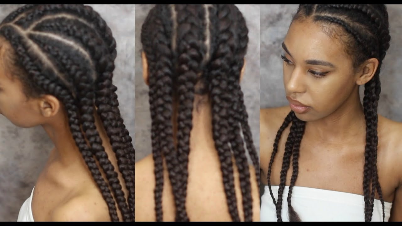 The Best How To Braid Hair With Extensions Invisible Cornrows Pictures
