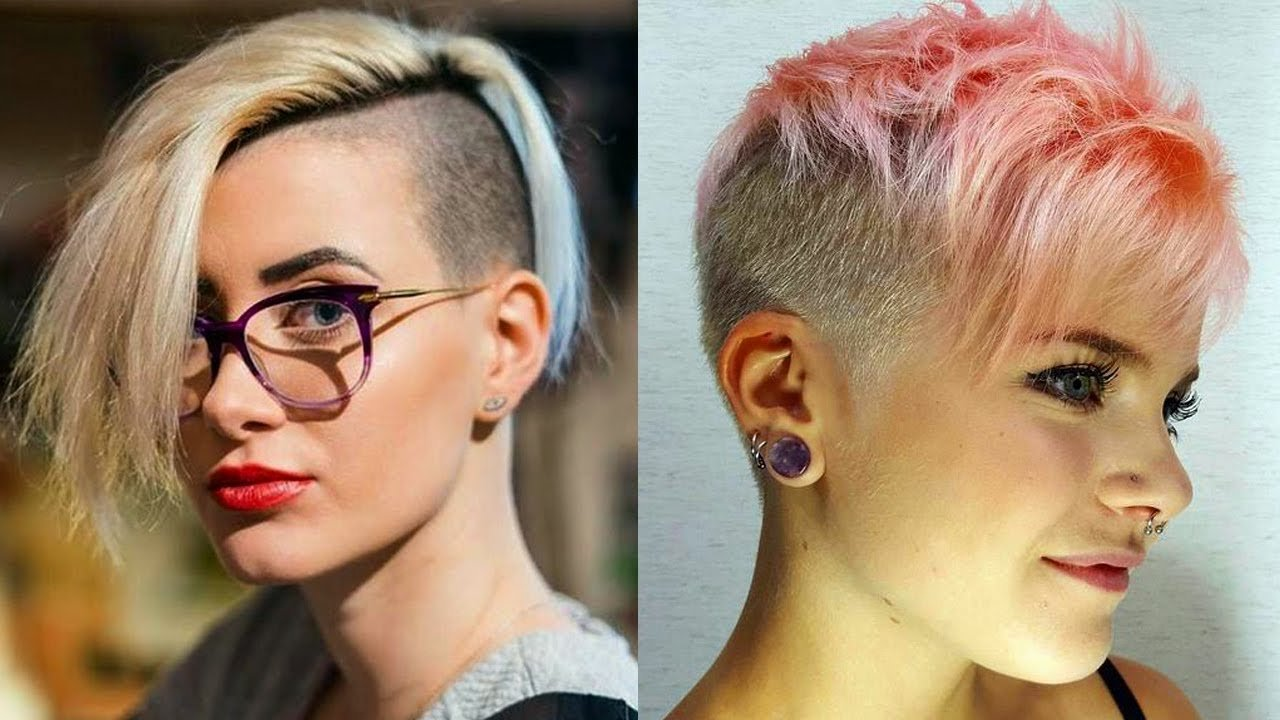 The Best Extreme Short Haircuts For Women Extreme Hair Makeover Pictures