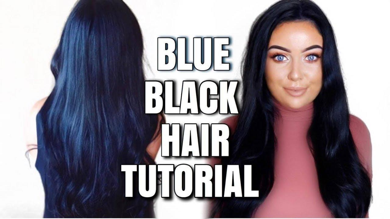 The Best Dying My Hair Blue Black Schwarzkopf Cosmic Blue Pictures