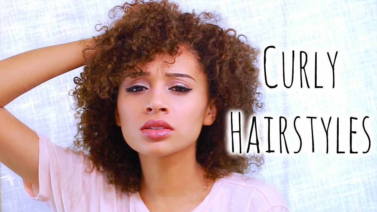 The Best 5 Easy Curly Hairstyles For School Youtube Pictures