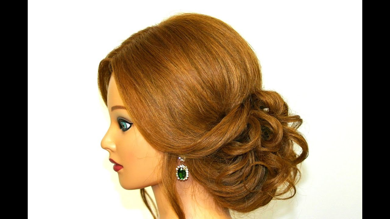The Best Romantic Hairstyle For Long Medium Hair Easy Updo Pictures