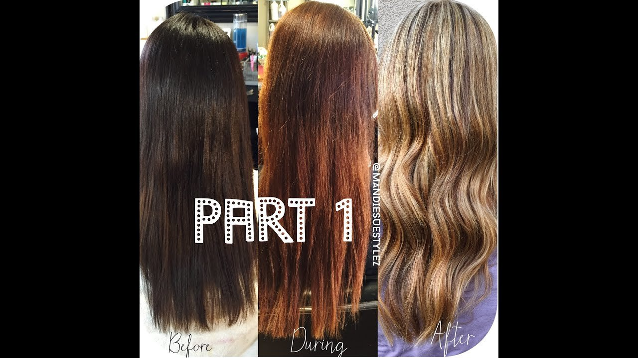 The Best Stripping Out Box Color Olaplex Treatment Part1 Youtube Pictures