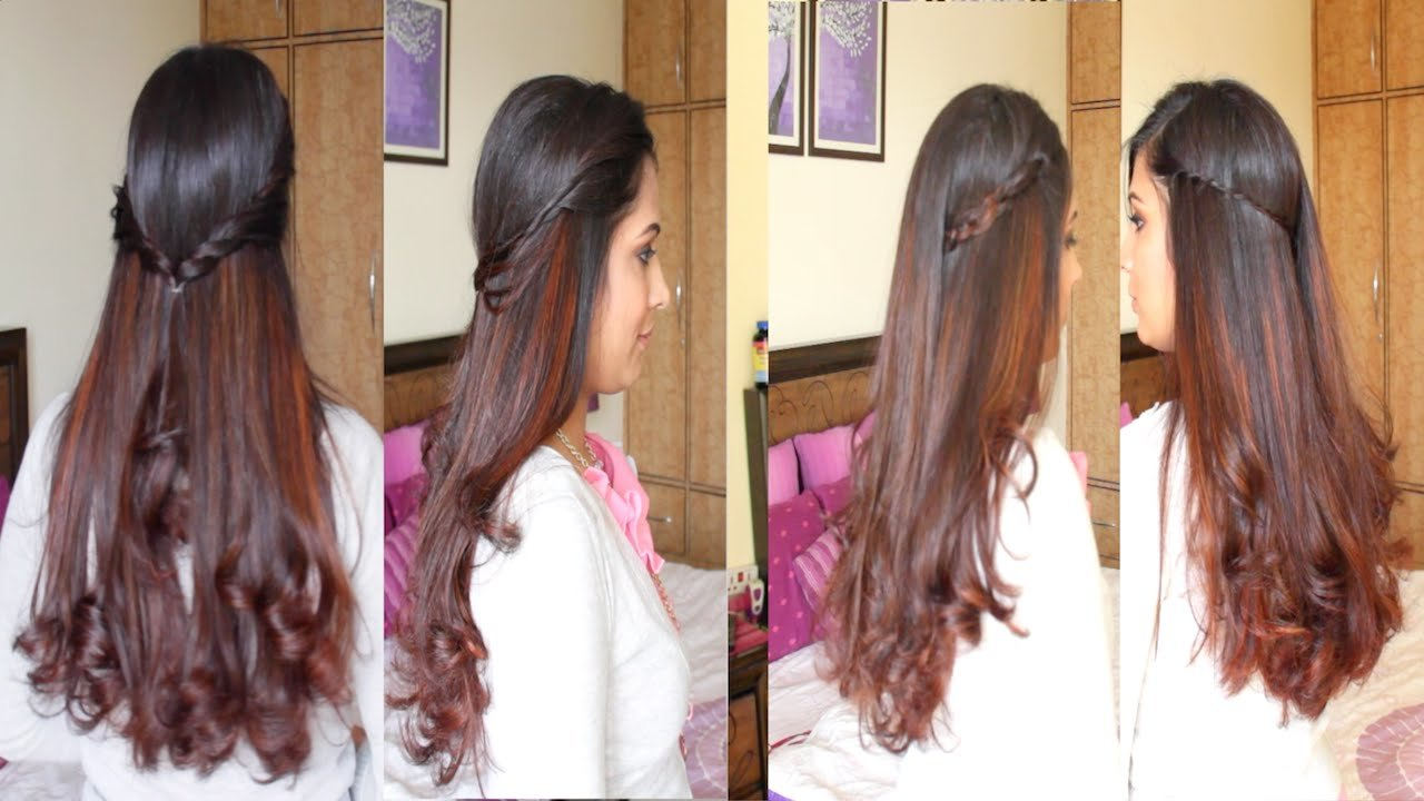 The Best 4 Simple Easy Diy Hairstyles Hairstyle Tutorial Youtube Pictures