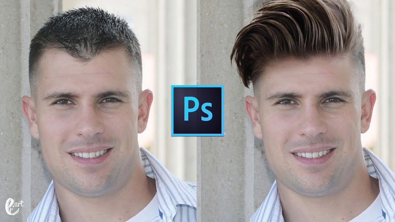 The Best How To Change Hairstyle In Photoshop Tutorial Photoshop Youtube Pictures
