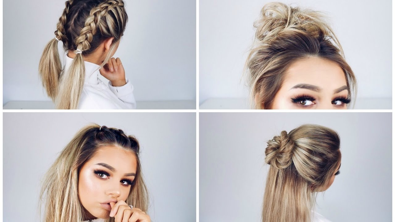 The Best Quick And Easy Hairstyles Youtube Pictures
