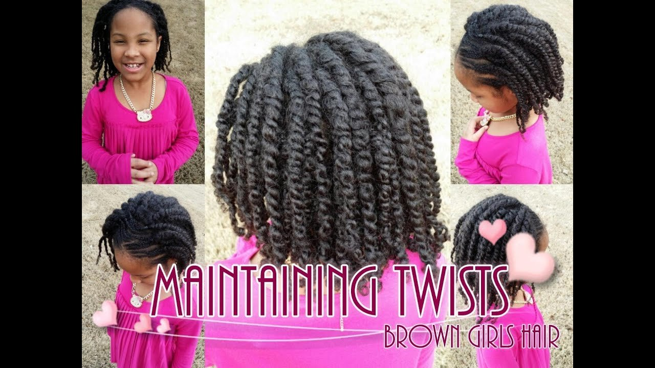 The Best How To Maintain Twists On Natural Girls Hair Youtube Pictures
