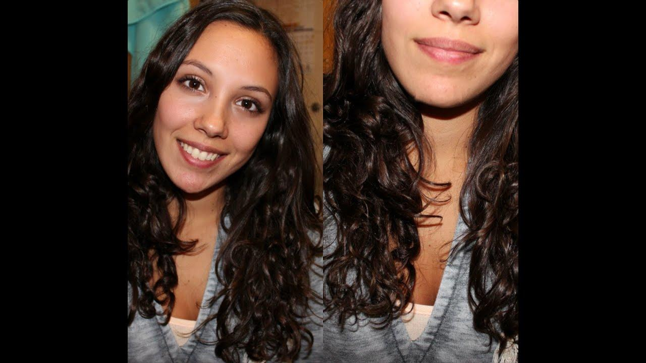 The Best Hair Care Routine How To Make Naturally Curly Hair Wavy Pictures