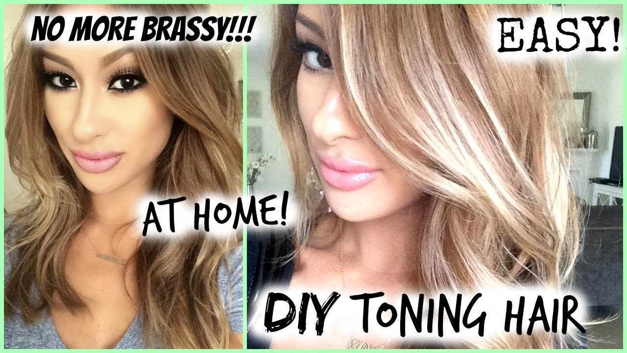 The Best How To Diy Toned Hair Roots Easy My Hair Color Youtube Pictures